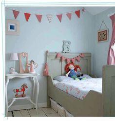 Dormitorio infantil gris