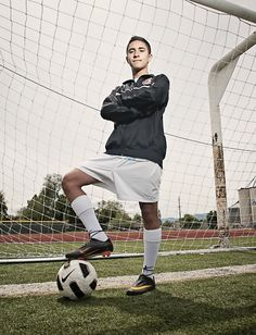 Logan High midfielder Kayd Marquez is the 2012 Herald Journal All-Valley Boys Soccer Player of the Year. (Photo by Jennifer Meyers) Soccer Poses, Soccer Senior Pictures, Soccer Team Photos, Football Poses, Senior Boy Poses, Team Pictures, Senior Guys, Sports Pictures, Volleyball Pictures