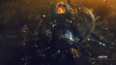 HAPPY CHINESE NEW YEAR TO YOU ALL .......another panorama concept for jupiter ascending.  original resolution 10K.