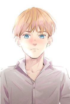 Ereri, Armin Snk, Attack On Titan Ships, Attack On Titan Fanart, Anime Manga, Anime Guys, Anime Art, Mermaid Boy, Fandom