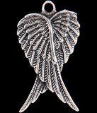 Angel Wings Heart Charm
