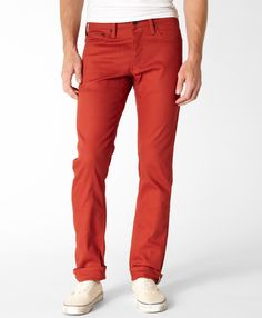 Levi's 511™ Skinny Commuter Pants - Red Ochre - 511™ Skinny