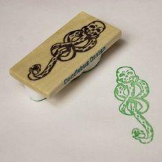 Large Dark Mark Handcarved Stamp