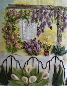 This blog is the best for silk ribbon embroidery inspiration.  This work is wonderful!