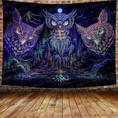 Tapisserie Murales Tapestry Wall Hanging D/écoration De La Chambre DArt Tissu Pour Salon Chambre /À Coucher Hippy Psych/éd/élique Boho Trippy Paysage De Montagne Pittoresque De Tapisseries Murales