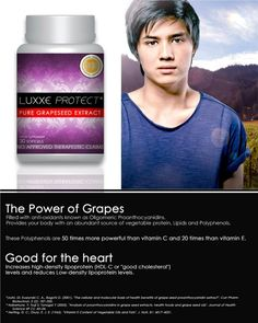 LUXXE PROTECT  Pure Grapeseed Extract