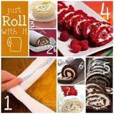 Recipe Roundup: Cake Rolls | Something Swanky