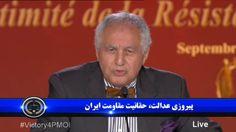 سيد احمد غزالى – نخست وزير پيشين الجزاير كنفرانس در پاريس - پيروزى عدالت ، حقانيت مقاومت ايران