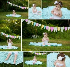 Emily Camp Photography » Baby Girl 1st Birthday Pictures