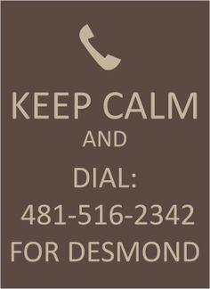 Dial for Desmond
