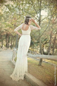 Ivory Lace Layered Dress | 50 Dreamy Wedding Dresses You'll Fall In Love With