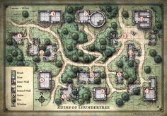 D&D Starter Set; Ruins of Thundertree (Digital DM & Player Versions)  http://mikeschley.zenfolio.com/p856083253