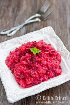 risotto cu sfecla rosie