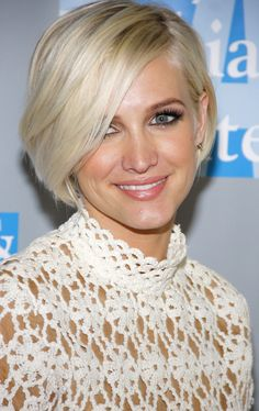 ashlee simpson short blonde hair - Google Search