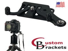C-Plate: Camera Plate for Sling Strap / Holster & Tripods by Custom Brackets — Kickstarter. Camera plate with true anti-twist for sling strap / holster. Choose Arca-Swiss style or Manfrotto series quick release type. Photography Gear, Photography Equipment, Plate Camera, Swiss Style, Photo Equipment, Video Camera, Toy Store, Tripod, Cameras