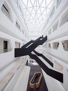 Balustrade mit spektakulärem Design - Ideen für jeden Geschmack #home #geländer #flur #hauseingang #treppe #homify #stair