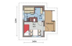 Modern Saunas, Mobile House, Floor Plans, Cottage, Garden Ideas, House Ideas, Container, Modern, Mobile Home