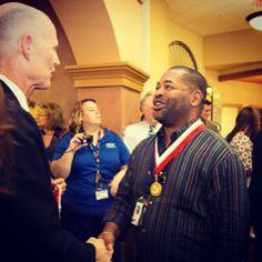 Gov. #RickScott Honors 154 Veterans with Governor's #Veterans Service Award August 15th in St. Augustine, #Florida