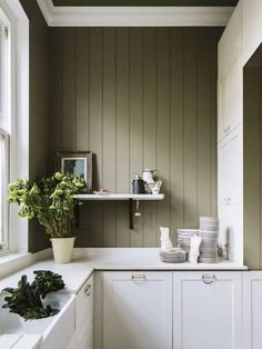 Top 10 Wall Paint Colors To Elevate Your Kitchen Space Trending Paint Colors, Best Paint Colors, Paint Colours, Wall Colours, Best Kitchen Colors, Kitchen Paint Colors, Farrow Ball, Rustic Kitchen, Kitchen Ideas