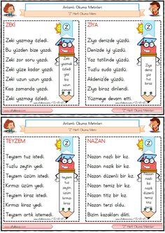 Turkish Lessons, Learn Turkish, Turkish Language, Class Activities, Primary School, Preschool, Bullet Journal, Education, Sayings