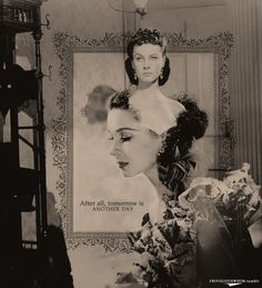 Scarlett O'Hara (Vivien Leigh) Gone With the Wind Gorgeous Movie, Tomorrow Is Another Day, Scarlett O'hara, Epic Movie, Vivien Leigh, Gone With The Wind, Tv Actors, Film Music Books, Movie Theater
