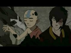 """""""I don't normally play this card""""- recap of the """"I'm the avatar"""" lines. This is so funny... Aang.. you ARE the Avatar :') <3"""