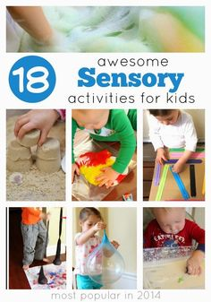 Toddler Approved!: 18 Favorite Sensory Activities of 2014