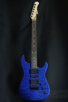 SADOWSKY TYO[サドウスキー] Modern Edge Strat / Trans Blue|詳細写真 Fender Guitars, Cool Guitar, Acoustic, Bass, Guitars, Flat, Lowes
