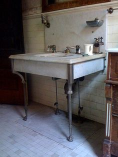 Brick Loft, Sink, Vanity, Bathroom, Home Decor, Sink Tops, Dressing Tables, Washroom, Vessel Sink