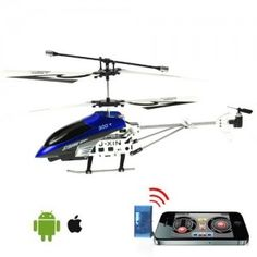 Support iOS And Android System Helicopter With Built-In Camera For Phone Pad Pod - Black