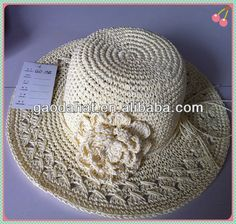 sombreros a crochet patrones ile ilgili görsel sonucu Crochet Motif, Crochet Stitches, Crochet Hooks, Knit Crochet, Crochet Hat With Brim, Knitted Hats, Diy Accessories, Crochet Accessories, Sombrero A Crochet