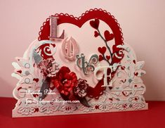 Cut to the Punchline - January Fan Club Gallery Now Open Valentine Ideas, Valentines, Diy Cards Crafts, Flower Stamen, Split Coast Stampers, Vintage Heart, Rubber Stamping, Heartfelt Creations, Creative Crafts