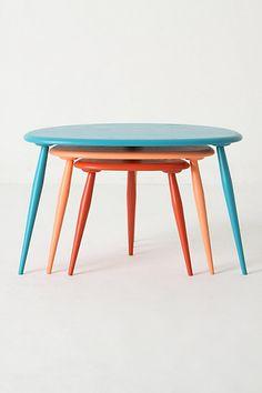 Amorphous Nesting Table Set - Anthropologie.com