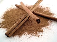 Cinnamon -- cinnamon is a top 10 antioxidant, controls blood sugar, prevents inflammation and arthritis, and SO much more