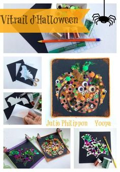 Halloween on pinterest bricolage halloween crafts for - Comment decorer pour halloween ...