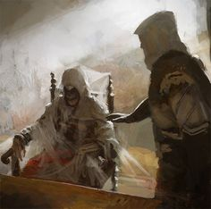Altair's Remains & Ezio Auditore - Great Assassins