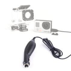 DURAGADGET Mini USB In-Car Power Supply For GoPro Cameras (Go Pro HERO3 (Black / Silver / White Edition), Helmet Hero, Motorsports Hero) by DURAGADGET, http://www.amazon.com/dp/B007MPDCBU/ref=cm_sw_r_pi_dp_5I2jsb1PE4773