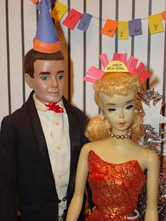 Wish I knew what year this is from?  Can anyone help me? FROM: Barbie: Happy New Year | Flickr - Photo Sharing!