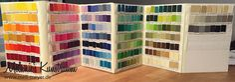 Mini Tutorial – Velcro Kona ColorCard | mell-meyer.de