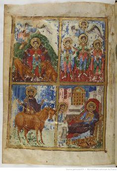 BnF, Grec 510, Grégoire de Nazianze, manuscrit dédié à l'empereur Basile Ier le Macédonien, folio 435v