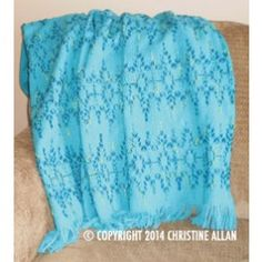 *** NEW Caribbean Jewel Lap Blanket