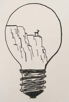 Die Idee mit der Glühlampe fand ich so gut, dass ich gleich nach eigenen Ideen gesucht habe. Mal schauen, vielleicht wird ja eine Serie daraus. Der Zusammenhang mit Rhodos ist leicht erklärt. Am Fr…
