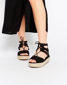 New+Look+Ghillie+Espadrille+Flatform+Sandals