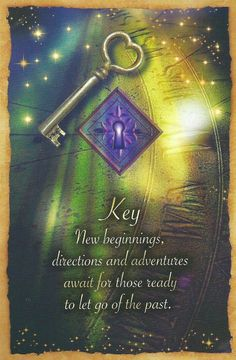 The Key card is from Sharina Star's Fortune Reading Cards deck. It was drawn to help answer a question about the meaning and messages of our dreams. Angel Guidance, Spiritual Guidance, Spiritual Awakening, Fortune Reading, Intuitive Empath, Signs From The Universe, Oracle Tarot, Angel Cards, Spirit Guides