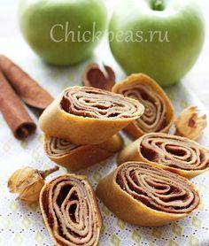 Нутовые роллы с яблоками и корицей | Chickpeas