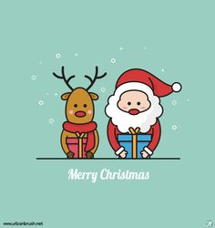 산타와 루돌프 일러스트 ai 무료다운로드 free Santa and Rudolph vector Merry Christmas And Happy New Year, Christmas Time, Xmas, Cute Illustration, Winnie The Pooh, Hand Lettering, Doodles, Santa, Kawaii