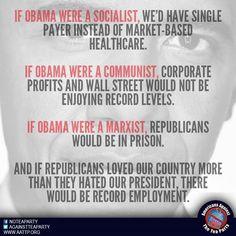 Obama..  the socialist, communist, marxist?