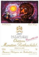 Everything and yes, I mean EVERTHING! you want to know about the labels of Chateau Mouton Rothschild you can find on WijnGekken.nl.... Read on....