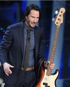 Keanu Reeves, Bae, Music Instruments, Guitar, John Wick, Men, Cinema, Musical Instruments, Guitars