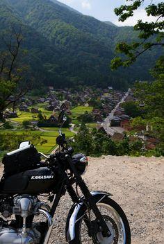 白川郷 Shirakawa-go, Gifu pref., Japan.